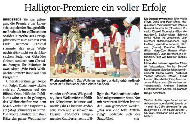 Husumer Nachrichten (06.12.2017)