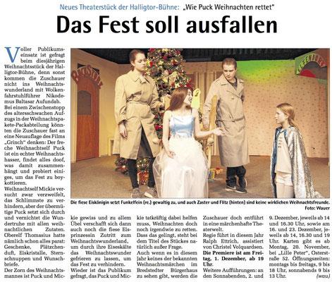 Die WochenSchau NF (19.11.2017)