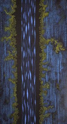 Spuren des Lebens 3, 2009, 90 x 49 cm
