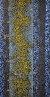 Spuren des Lebens 4, 2009, 54 x 98 cm [verkauft]