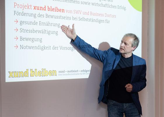 SWV-xund-bleiben-Koordinator Robert Rothschädl