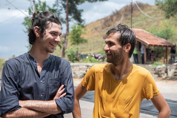 Julien und Selim sind dennoch guter Dinge.