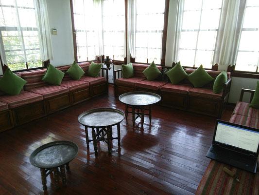 Impression von grabungsfreien Arbeitstagen in einem schönen Hotel in Kozan.