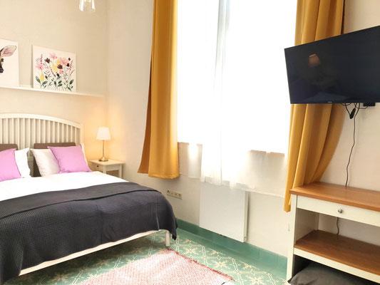 Schlafzimmer Blumenwiese