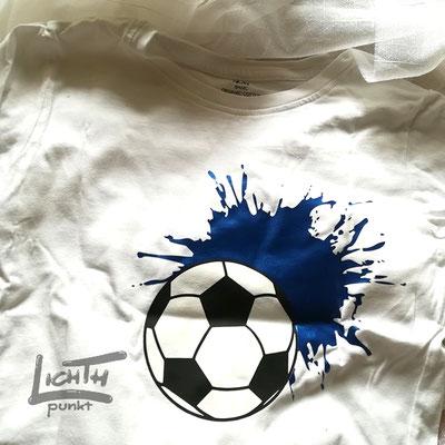 """""""Fußball mit Farbfleck"""""""