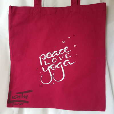 """""""peace love yoga"""""""