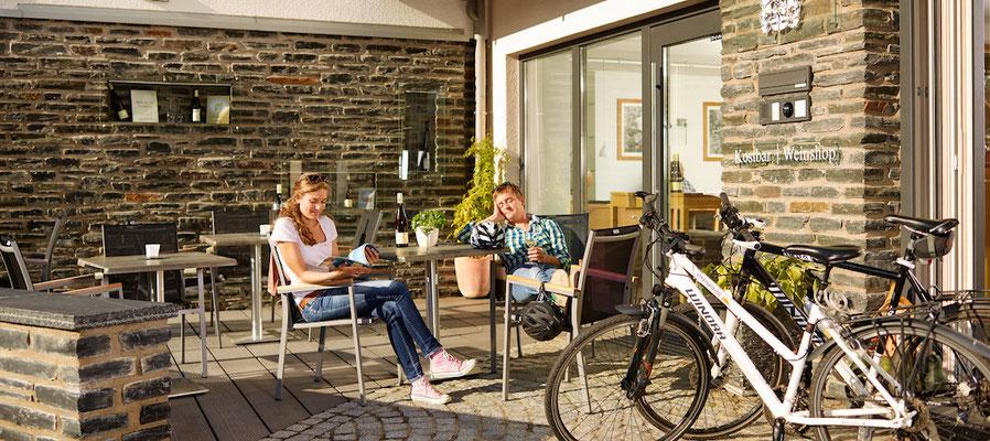 Radfahren und Moselgenuss © Mosellandtouristik GmbH, C.Arnoldi