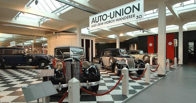 Impressionen aus dem August Horch Museum Zwickau