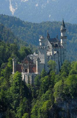 Märchenschloss Neuschwanstein © Füssen Tourismus und Marketing / www.guenterstandl.de