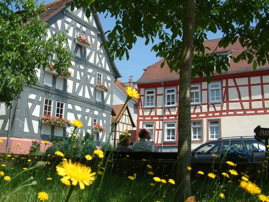 Impressionen von der Deutschen Fachwerkstraße: Erbach im Odenwald © Deutsche Fachwerkstraße