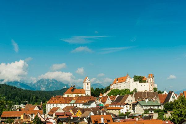 Füssen Stadtansicht © Füssen Tourismus und Marketing / Andreas Hub