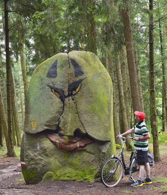 Süntelstein in Belm (© TOL, Dieter Schinner)