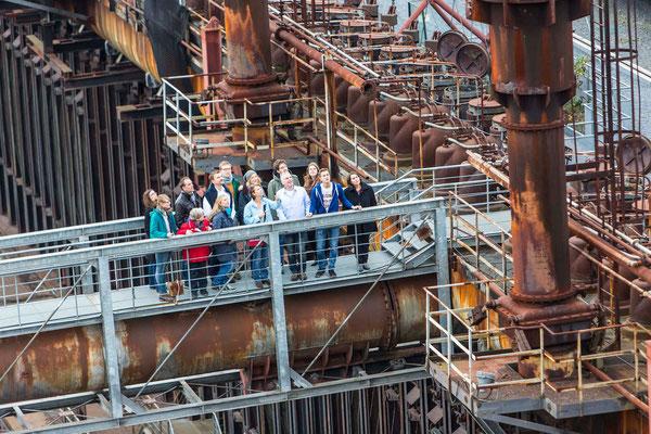 Impressionen vom UNESCO-Welterbe Zollverein © Jochen Tack