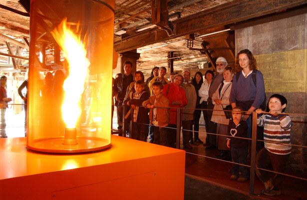 Impressionen vom Weltkulturerbe Völklinger Hütte > Der Feuertornado im Ferrodrom