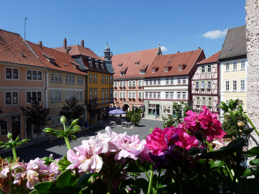 Bad Langensalza Altstadt (© Deutsche Fachwerkstraße)