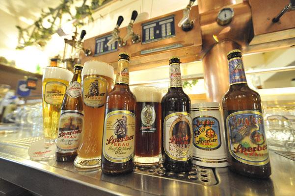 Bierspezialitäten der Brauerei Sperberbräu in Sulzbach-Rosenberg