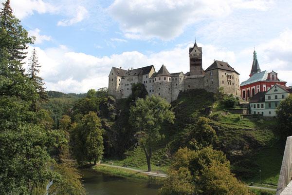 Burg Loket © Verein Porzellanstraße e.V.