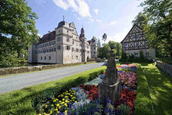 Wasserschloss Mitwitz © Frankenwald Tourismus
