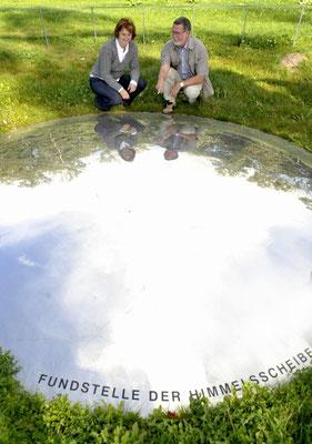 Himmelsauge - Fundort der Himmelsscheibe - Copyright Stedtler