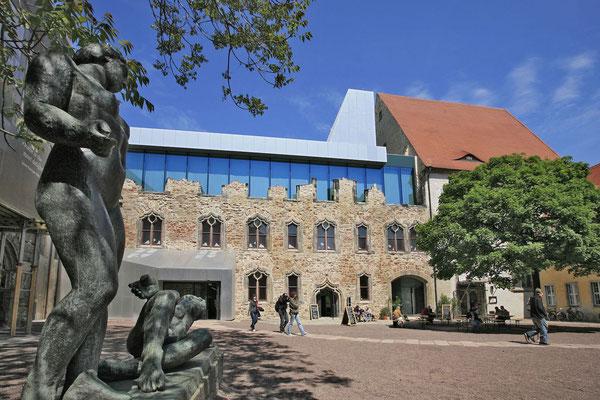 Innenhof Kunstmuseum Moritzburg  Halle © Stadt Halle (Saale) / Thomas Ziegler