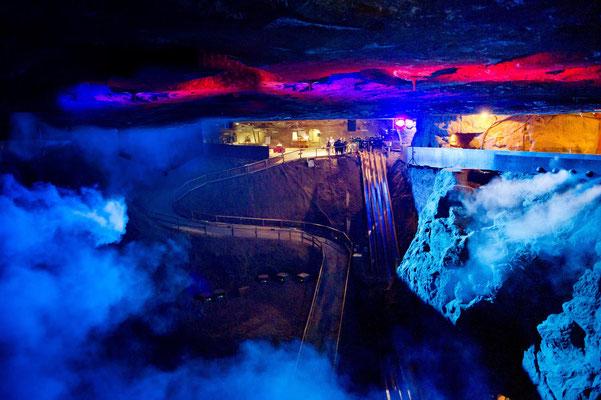 Impressionen vom Salzbergwerk Berchtesgaden