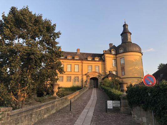 Bad Wildungen - Blick auf das Schloss: Hier lebte die historische Vorlage vom Schneewittchen