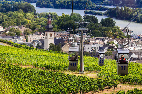 Seilbahn Rüdesheim © Rüdesheim Tourist AG / Moritz Kertzscher