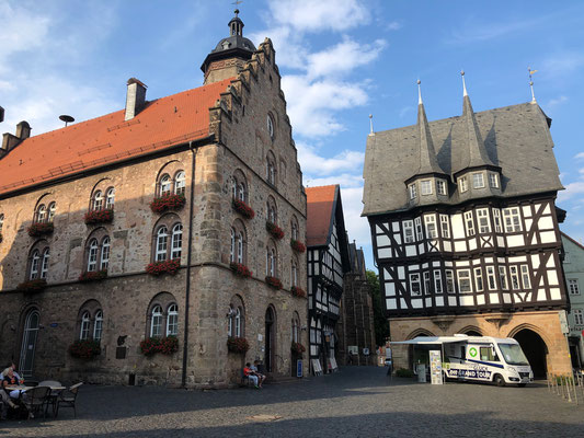 Alsfeld - Die Rotkäppchenstadt: Der Rathausplatz