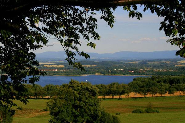 Berzdorfer See, Blick von Jauernick © Europastadt GmbH