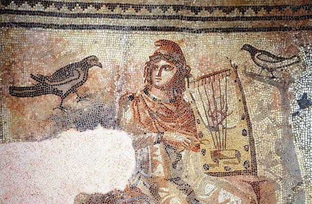 Orpheus-Mosaik (Copyright: © Römerstraße Neckar-Alb-Aare, Foto: Erwin Reiter)
