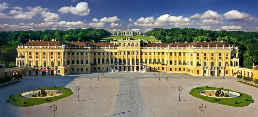 Schloss Schönbrunn und Gloriette © Österreich Werbung, Fotograf: Julius Silver