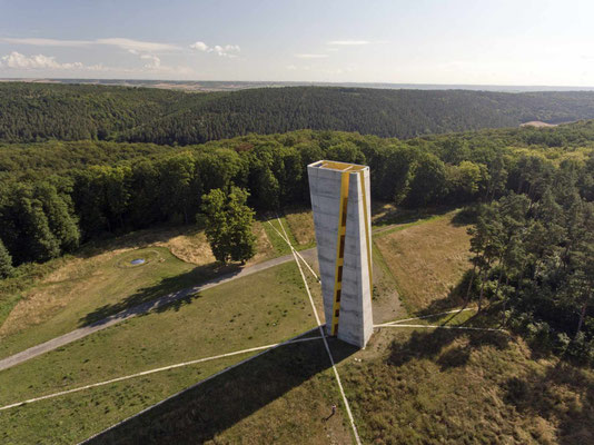 Mittelberg, Fundort der Himmelsscheibe © Arche Nebra, H. Steglich