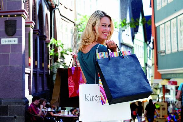 Shoppingflair und Einkaufserlebnis in den STARKEN STÄDTEN