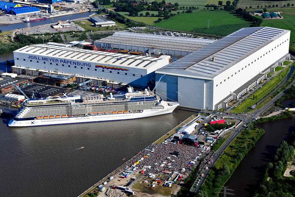 Meyer Werft Papenburg, © Deutsche Fehnroute