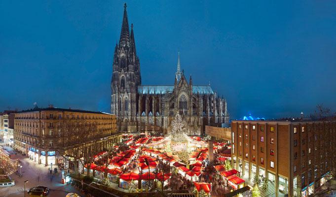 Weihnachtsmarkt Heimat der Heinzel - Copyright Weihnachtsmarkt Kölner Altstadt