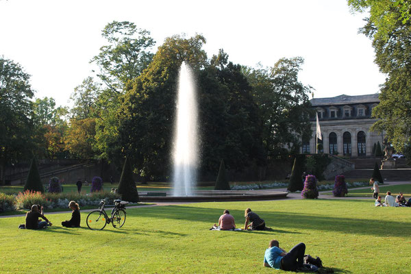 Schlosspark in Fulda (© Via Regia)