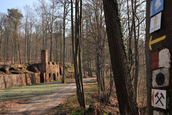 Homburg - Waldpark Schloss Karlberg © Jürgen Proföhr, AG BarockStraße SaarPfalz