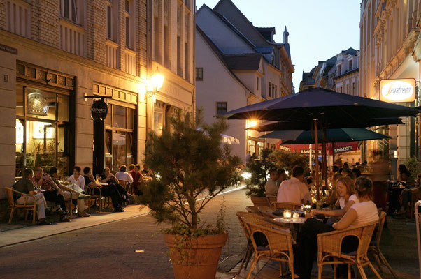 Kneipenmeile Kleine Ulrichstrasse © Stadt Halle (Saale) / Thomas Ziegler