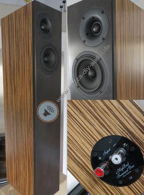 Highend Lautsprecher Wavetube 152