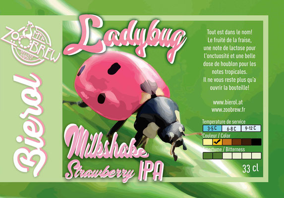 Lady Bug Milkshake StrawberryIPA
