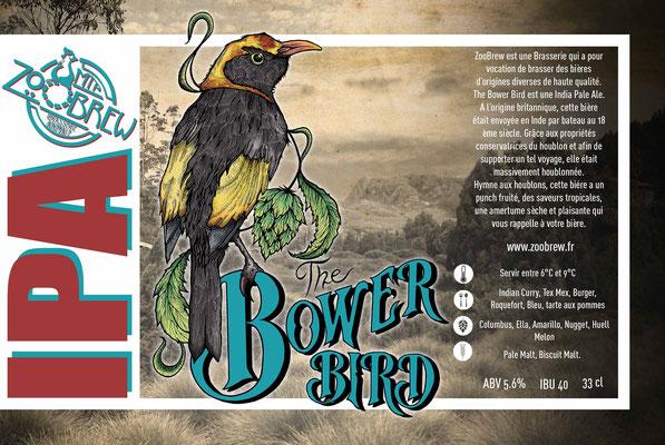 Bower Bird IPA Montpellier ZooBrew Brasserie Animale