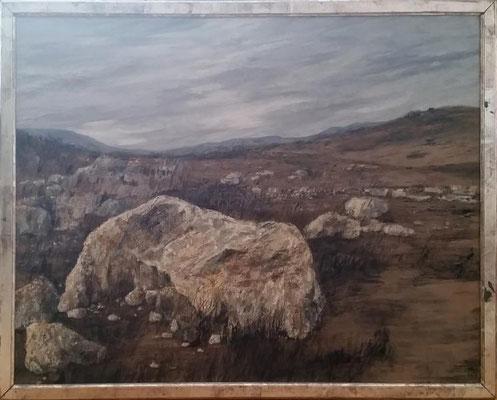 Die Crete     Tempera auf Leinwand  (69 x 89 cm)     Preis mit Rahmen 1950 Euro