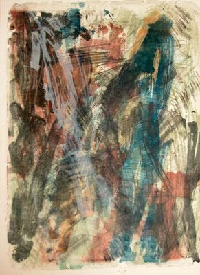 o.T., Lithografie,  Einzelexemplar, signiert 2014, Bildgröße: 65 x 49 cm, Blattgröße: 74 x 52 cm, Preis: 450 Euro
