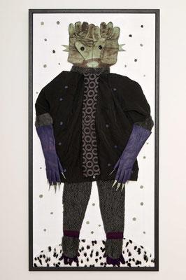 Erlkönig, 140 x 65 cm, Materialbild 2011, Preis: 900 Euro