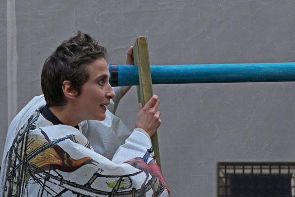 Shakespeare auf der Straße, 40 x 60 cm, Preis: 250 Euro