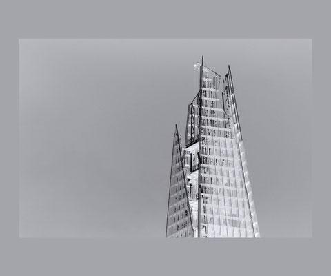 SHARD  FineArt-Print, 53 x 36 cm, mit Passepartout und Rahmen 60 x 50 cm, Preis: 490 Euro