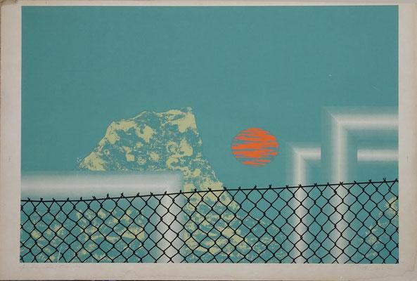 o.T. Auflage unbekannt; signiert 1973, Blattmaß: 86 x 61 cm; Bildmaß: 77,5 x 56 cm