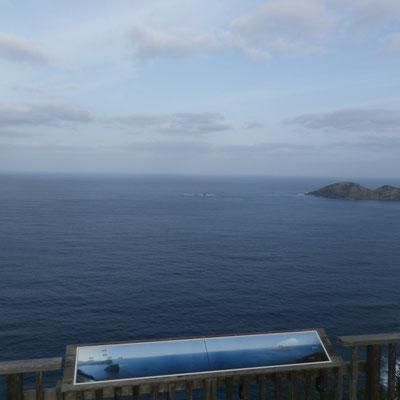 ウエザーステーションから見た海