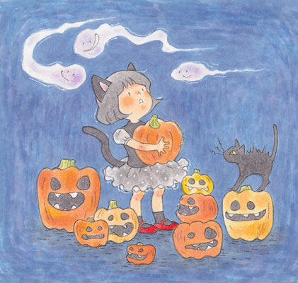 習作:Happy Halloween