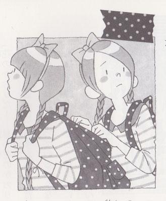 『マーサとリーサ③花屋さんのお店づくり、手伝います!』より